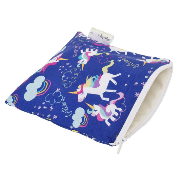 Beautiful Butterflies Itzy Ritzy Reusable Snack and Everything Bag