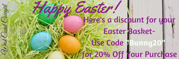 Happy Easter- Here's a Discount for You