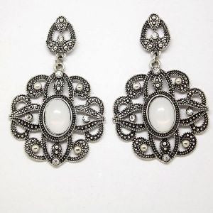 Cher Ami Antique Silver Earrings