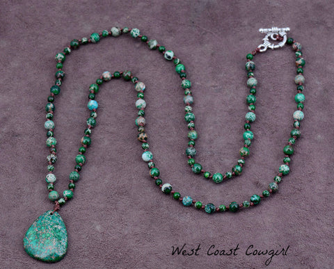Turquoise-Bead-Necklace