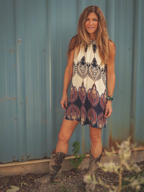 Choctaw Inspired Dress