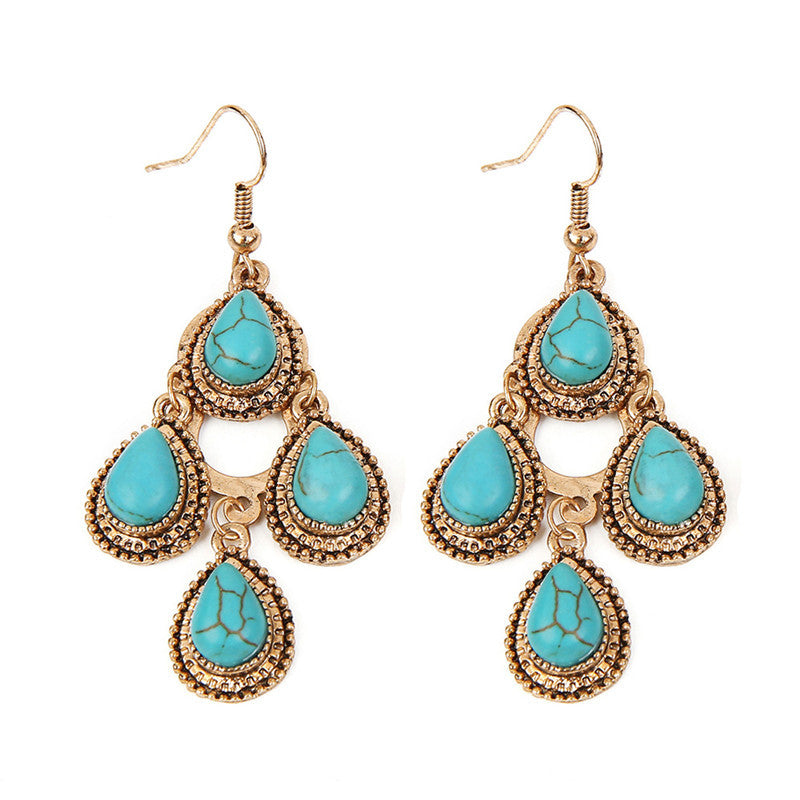 Turquoise-Earrings-4-Teardrop-Gold
