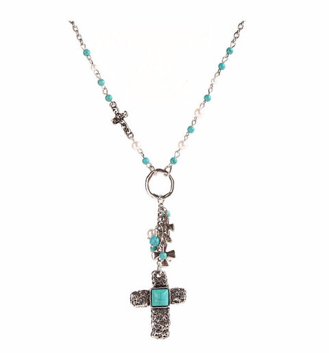 Dante Cross Necklace