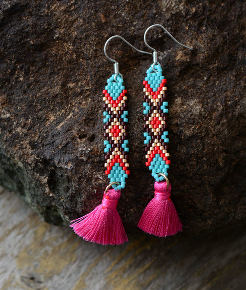 Lacee Tassel Earrings