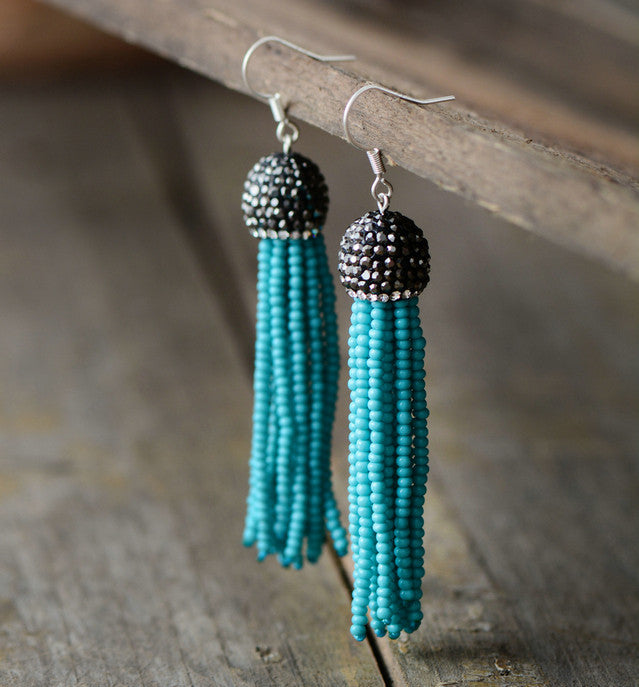 Ohanzee Tassel Earrings