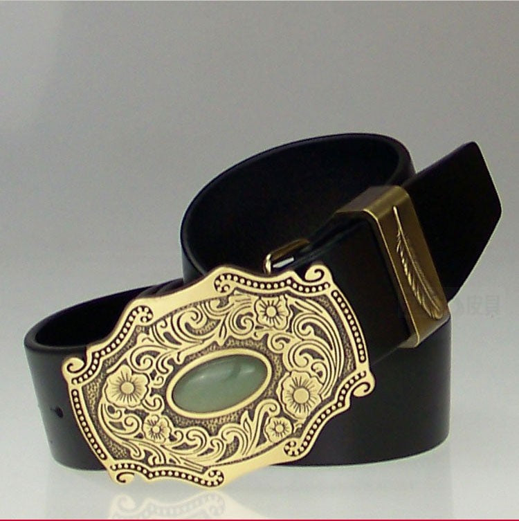 Morgan Leather Belt