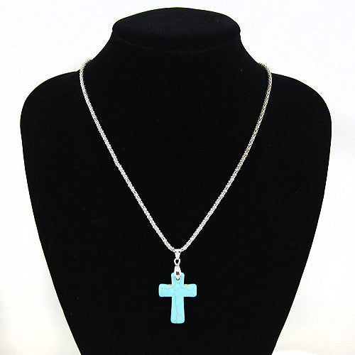Cowgirl Love - Cross Necklace