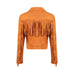Warrior Fringe Bomber Jacket