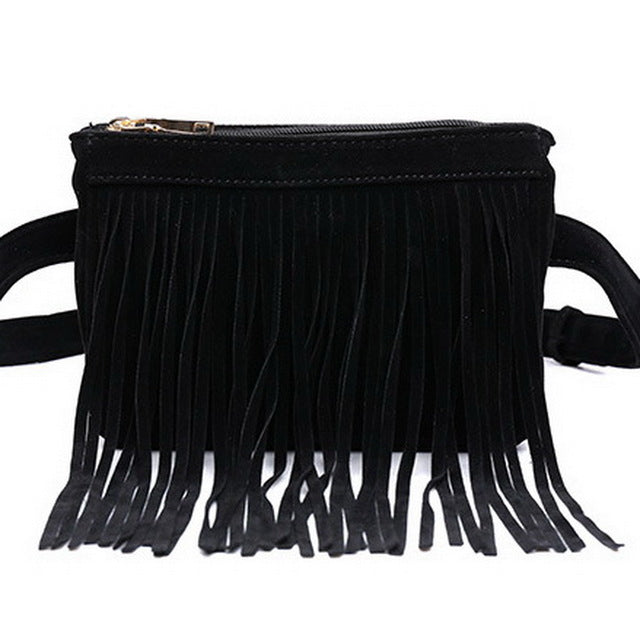 Tutuni Fringe Pocket Belt