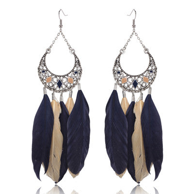 Jayati Feather Earrings
