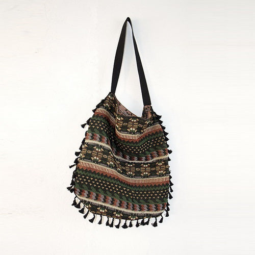Bailey Tassel Tote Bag