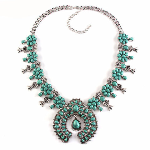 Squash-blossom-statement-Necklace