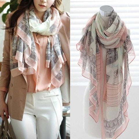 Beautiful Women Spring Scarf