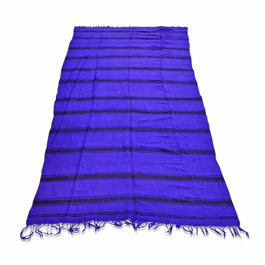Purple Stripe Kilim Rug