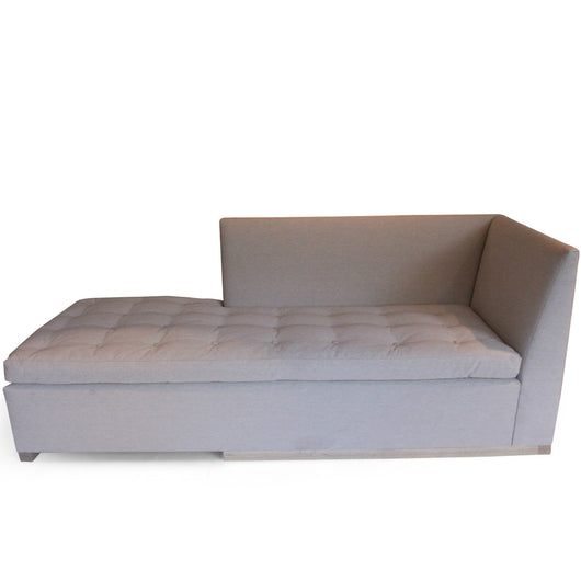 Evan Condo Upholstered Chaise