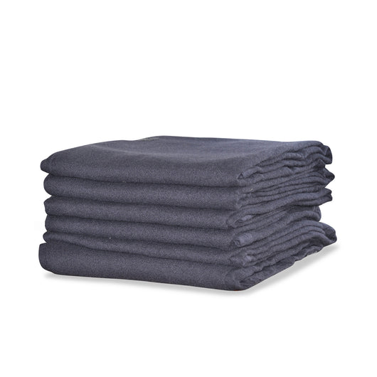Cashmere Throw In Japanese Blue