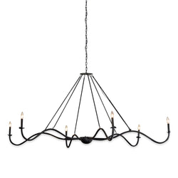 Black Spider Chandelier