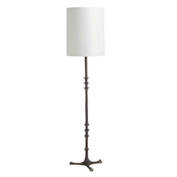 Black Wrought Iron Floor Lamp