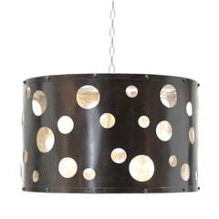 Cut Out Drum Shade