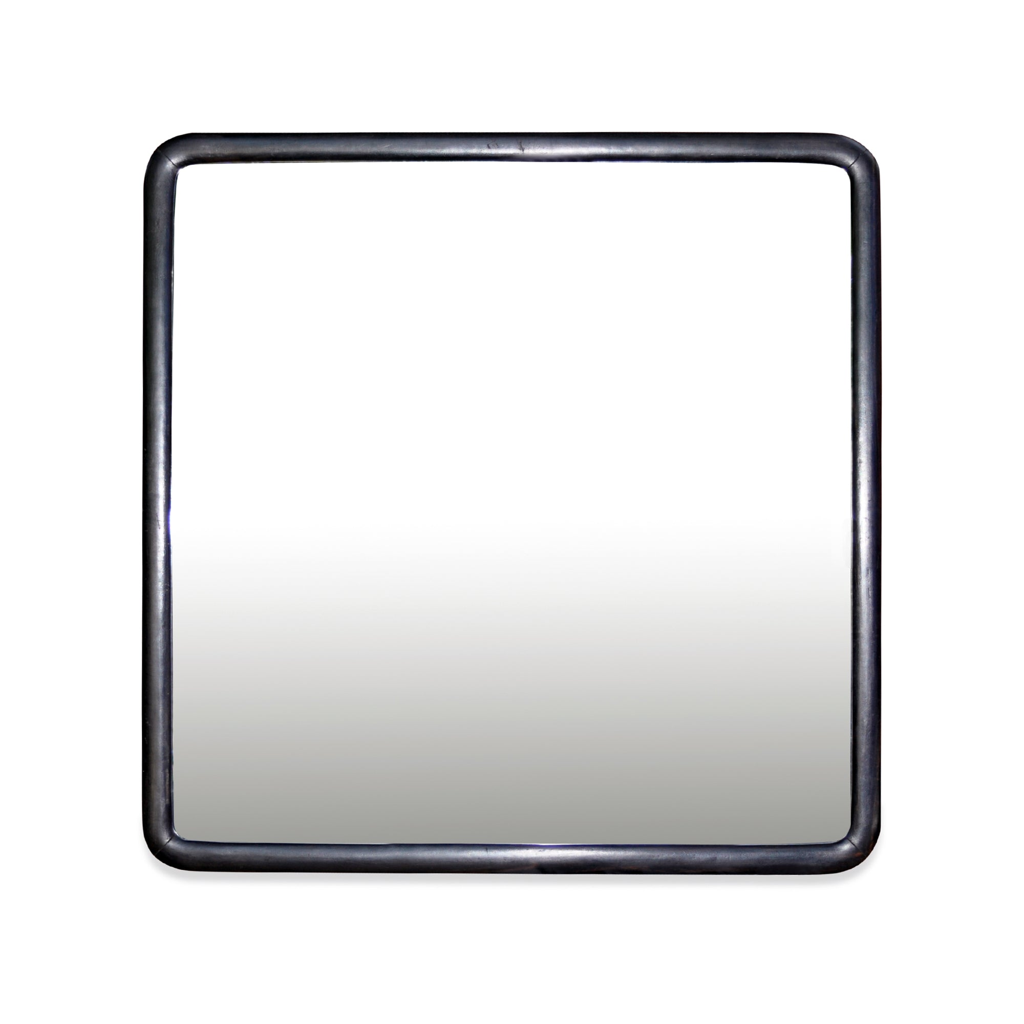 Pair of Japanese Square Black Mirrors