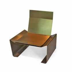 Brass Chair, C. 1970