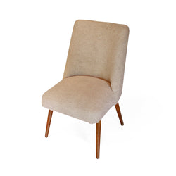 Upholstered Wool Dining Chair