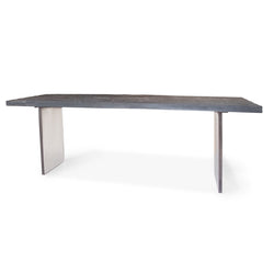 Black Table with Plexi Legs