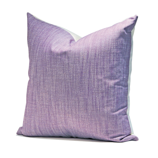 Purple Linen Pillow