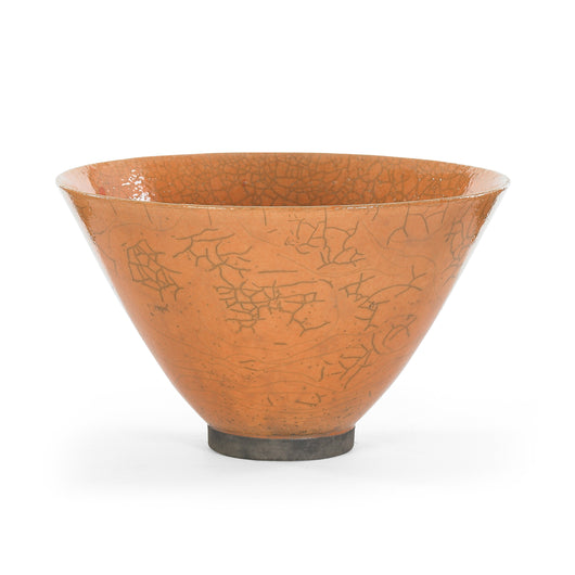 Orange Flared Bowl