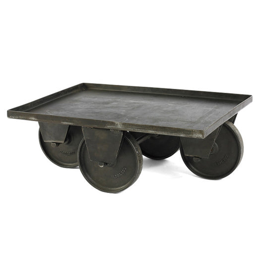 Metal Cart Coffee Table