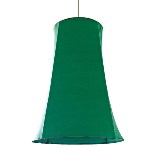 Iron Frame Light With Green Velvet