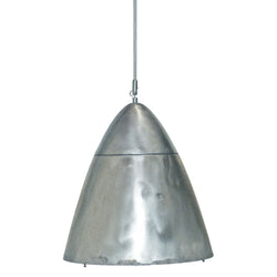 Metal Cone Pendant With Rivets