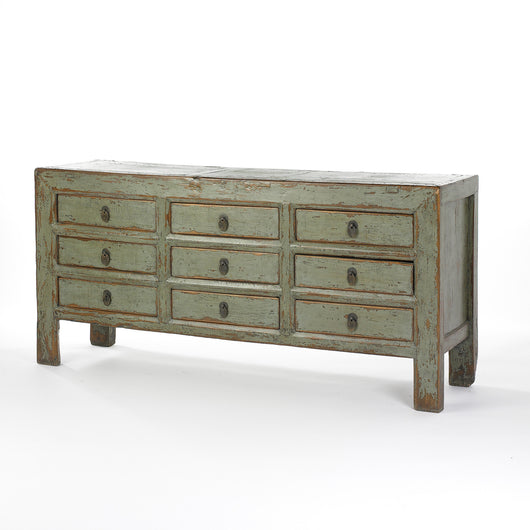 GREY SIDEBOARD 9 DRAWERS