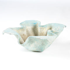 Blue Handkerchief Planter