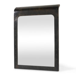 Black Rivet Mirror