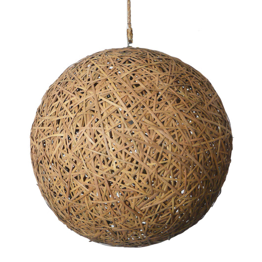 Straw Sphere Light