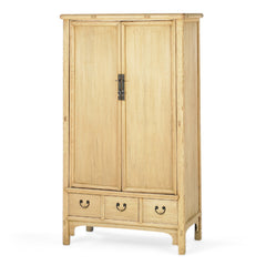 Armoire With 2 Doors And 3 Drawers