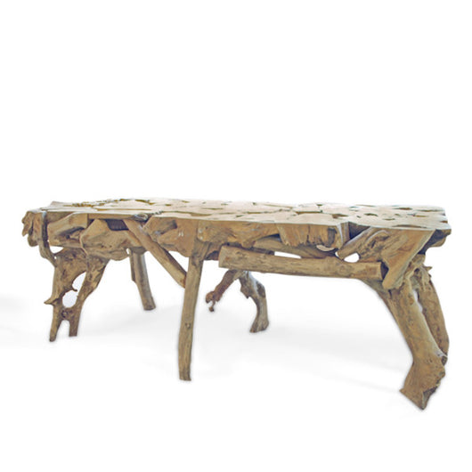 Large Driftwood Console