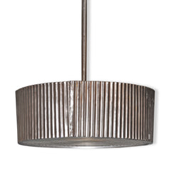 Ribbed Tin Light