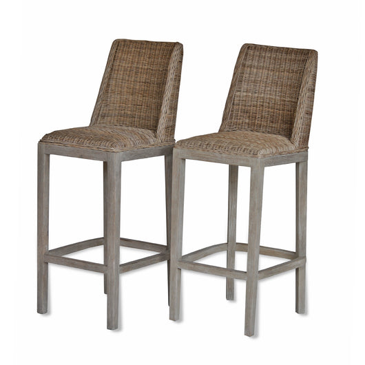 Wicker Barstool
