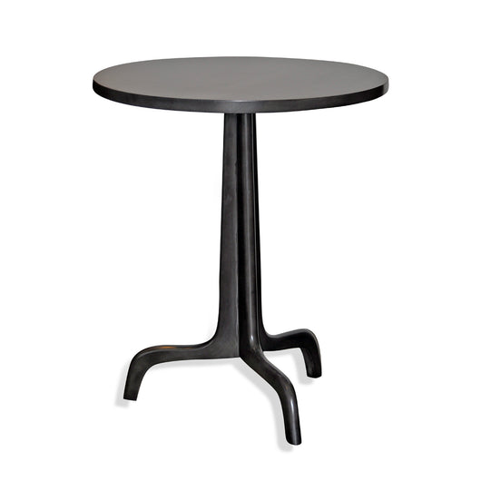Round Grey Side Table