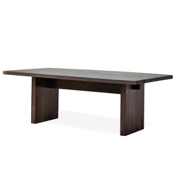 Reclamed Elm Plank Dining Table