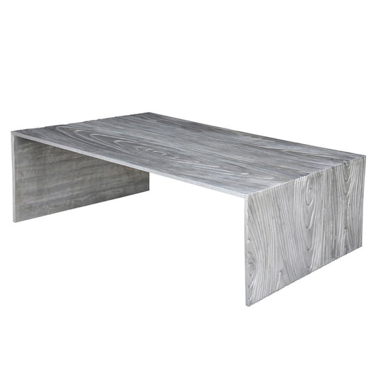Cast Aluminum Coffee Table