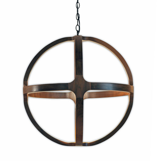 Medium Walnut Pendant