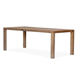 Simple Elm Dining Table