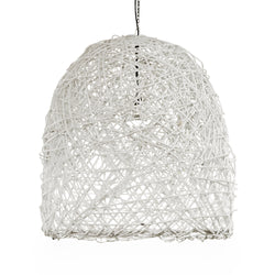 White Branch Basket Light