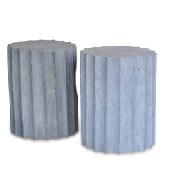 Light Grey Starfruit Stool