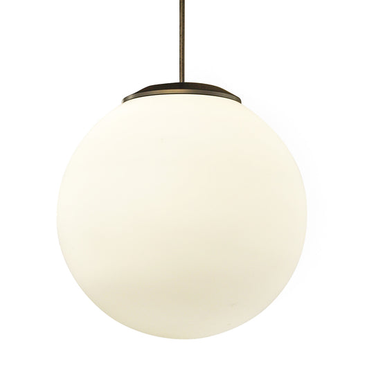 White Glass Globe Light