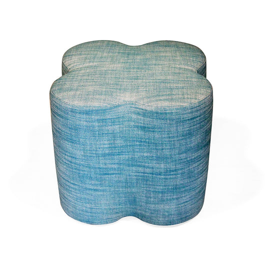 Upholstered Clover Stool