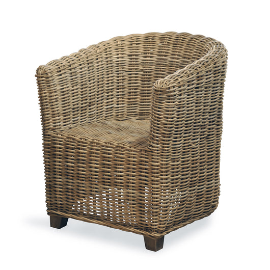 Barrel Rattan Chair